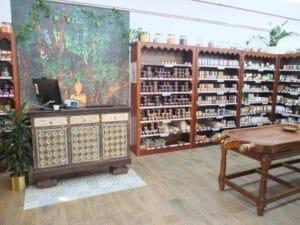 Kerala Ayurveda Shop Buddha